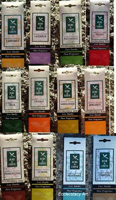 Herb Earth Incense Sticks Nippon Kodo Less Smoke 1 Pack -You Pick 12 Fragrances ()