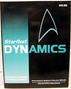 1993 Starfleet Dynamics- Star Trek Technical Manual/Book- 190+ Pages- FREE S&H
