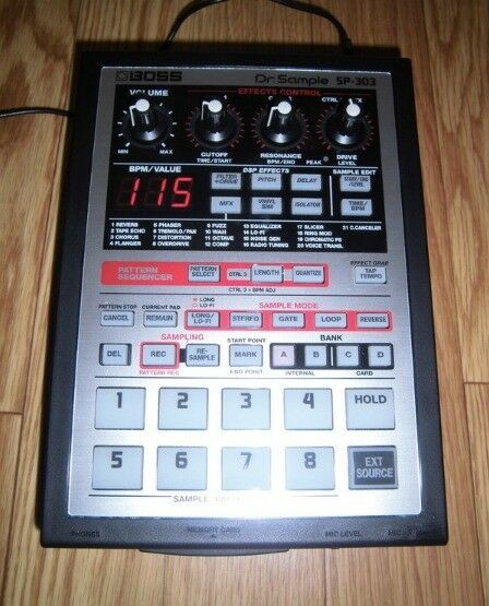 Boss SP303 Sampler ***FREE SHIPPING*** ( SP 303 , MPC ) | in City of  London, London | Gumtree