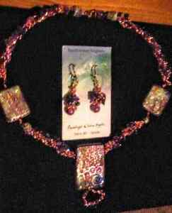 Amethyst Necklace and Earring Set *New*