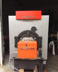 Viessmann oil fired boiler