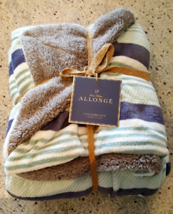 NEW Luxury Collection Allongé Berber Throw 50 x 60 in