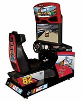 Nascar  Full Size Arcade Driving Games.& pinball machines & More