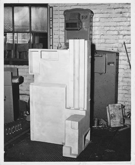 Pratt & Whitney 1950s Stock Photo - Machine Weighing Inspection