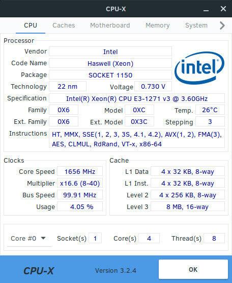 Intel Xeon E3 -1271 v3 SR1R3 3 60GHz Socket LGA1150 QUAD CORE GAMING CPU |  in Dursley, Gloucestershire | Gumtree