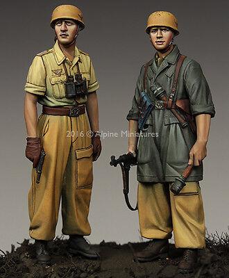 ALPINE MINIATURES 35222 WWII German 1st FJ Div. Set (2 Figuren) in 1:35
