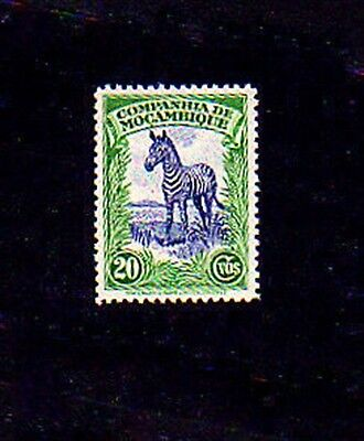 MOZAMBIQUE CO - 1937 - ZEBRA - AFRICA - MINT - MNH - SINGLE