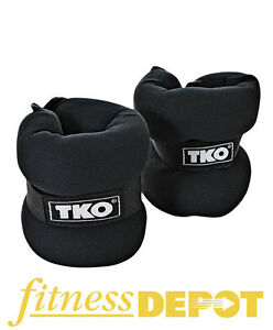 TKO Neoprene Ankle Weights - Pair of 5 Lb AWAW025NTKO