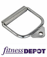 Chrome Cable Single Handle Home Gym Attachment CACHC