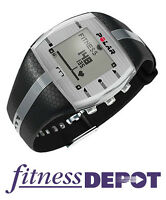 FT7M Heart Rate Monitor - Black with Silver Stripe HRPOFT7MBS