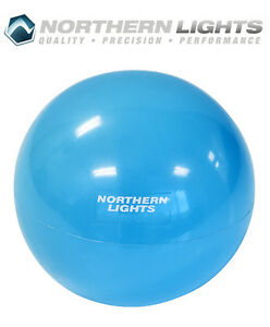 Northern Lights Weighted Pilates Ball, 3lbs MBWPILLB03