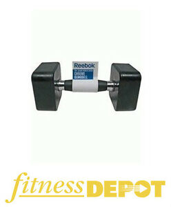 Reebok Rubber Square Dumbbell DBRBSQ