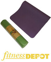FITNESS DEPOT 8mm Eco-Friendly TPE Yoga Mats YGMTP818361