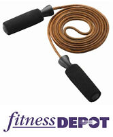 FITNESS DEPOT Leather Jump Rope JRLEATHER