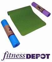 Brand New Fitness Depot 5mm TPE Yoga Mat Mats YGMTP518361