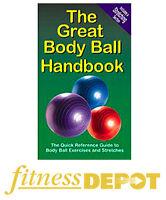 PRODUCTIVE FITNESS Gym Ball Handbook SALE!!! BKTGBODYBALL