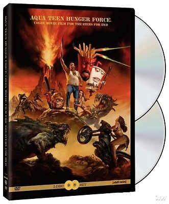 Aqua Teen Hunger Force Colon Movie Film For Theatres  Dvd  2007  2 Disc Set  New