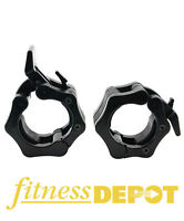 FITNESS DEPOT Hex Lock Olympic Collars - Pair SALE!!! WCOHEXLOCK
