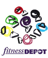 FITNESS DEPOT Covered Tension Resistance Tubes RBCT