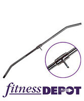 FITNESS DEPOT Solid Lat Bar 48', Chrome SALE !!! CALB48SC