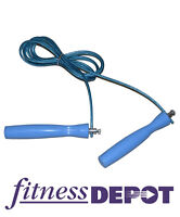 Speed Jump Rope with Bearings - Adjustable 79g Cable JRCAJB79BB