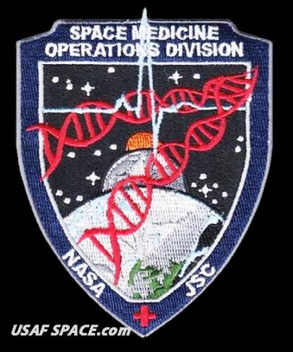 NASA JSC SPACE MEDICINE OPERATIONS DIVISION - Johnson Space Center - SD3 PATCH