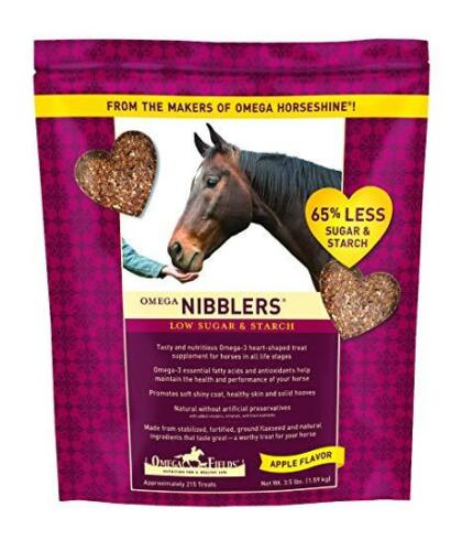 DURVET OMEGA HORSE NIBBLERS Less Sugar & Starch 3.5LB