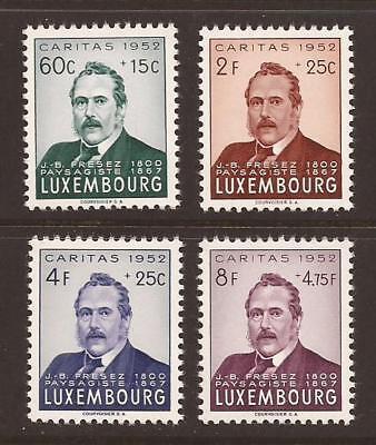 LUXEMBOURG 1952 SG559/562 National Welfare Fund Set MNH (JB3325)