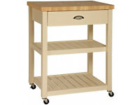 Butchers Block Trolley. John Lewis. Immaculate Condition (REDUCED))