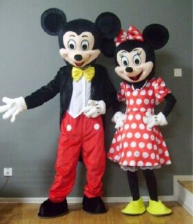Mickey u0026 Minnie Mascot Costume Hire  sc 1 st  Gumtree & Mickey u0026 Minnie Mouse Mascot Costume Hire | Party Hire | Gumtree ...