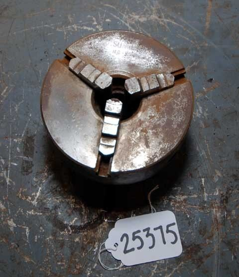 Sunnen 5 inch 3 Jaw Chuck with Mandrel Mount (Inv.25375)