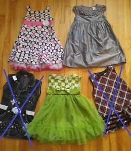 Belles robes pour occasion 3-4T nice dress for special occasions