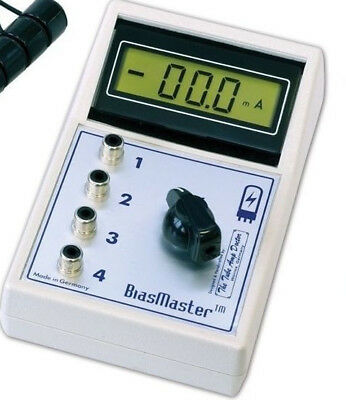 Bias Master System Bm2-el84 - Tad With 2 Noval Sockets - Bias Measuring Meter