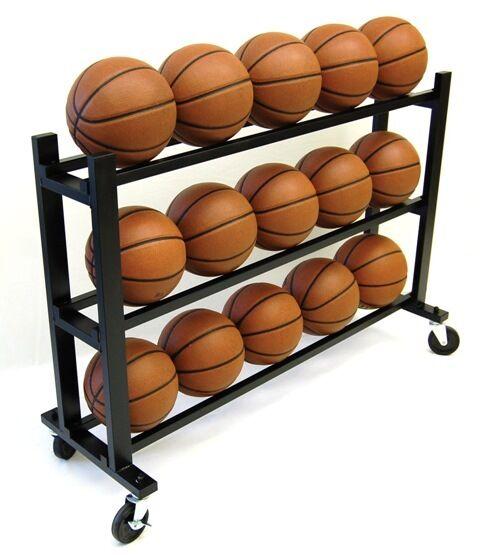 Trigon Sports Procage 3-Tier 15-Ball Hd Ball Cart CART315