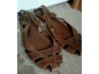 River island sandals.size6