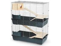 Large double indoor rabbit / guinea pig cage