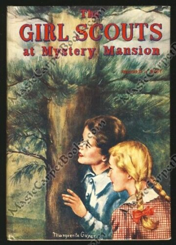 1957 THE GIRL SCOUTS AT MYSTERY MANSION Series BEAVER PATROL Girls FIRST EDITION