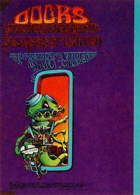 The Doors Rick Griffin  Fillmore Era Family Dog Handbill 1967 Jim Morrison