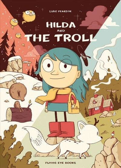 Hilda and the Troll, Paperback by Pearson, Luke, Brand New, Free shipping in ...