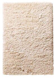 Soft IKEA GÅSER high pile rug 133x195