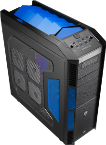 Brand New Aerocool X-Predator Evil Blue Full Tower Case Rowville Knox Area Preview