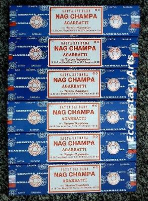 Ароматизированные палочки, благовони Satya Nag Champa
