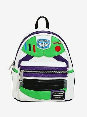 Loungefly Disney Pixar Toy Story Buzz Lightyear Suit Mini Backpack NWT