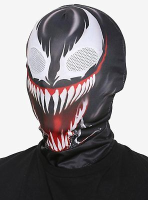 SPIDERMAN MARVEL VENOM 2ND SKIN MASK (Spiderman Mask Black)