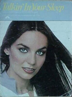 CRYSTAL GAYLE SHEET MUSIC, 1977  - TALKIN' IN YOUR SLEEP for sale  Shipping to India