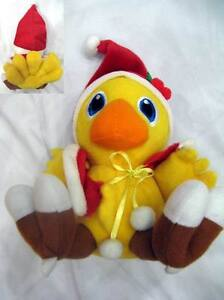 FINAL-FANTASY-VII-7-CHOCOBO-bird-PLUSH-DOLL-4-NEW