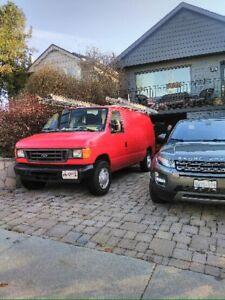 Ford E250 super duty cargo truck