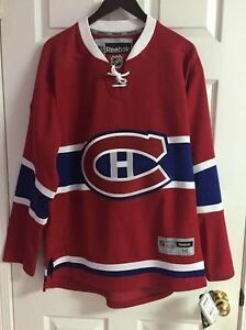 NWT Montreal Canadiens Reebok Premier 7185 NEW Home Red Jersey M