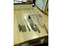Selection of BBQ utensils - £5 for everything