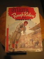 1951 Ottawa Rough Riders Redblacks Game Day Program